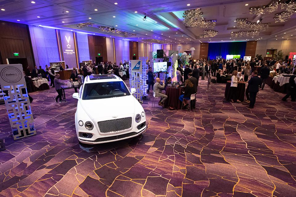 A Bentley In The Brand Officials Pavilion
