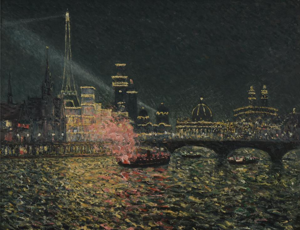 Maxime Maufra, Night-tme Enchantment, 900 World's Fair.
