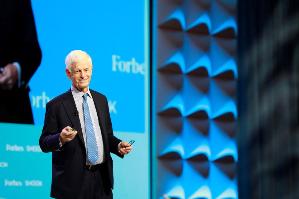 Value investor Mario Gabelli speaks at the Forbes/SHOOK Top Advisor Summit at the Wynn in Las Vegas.