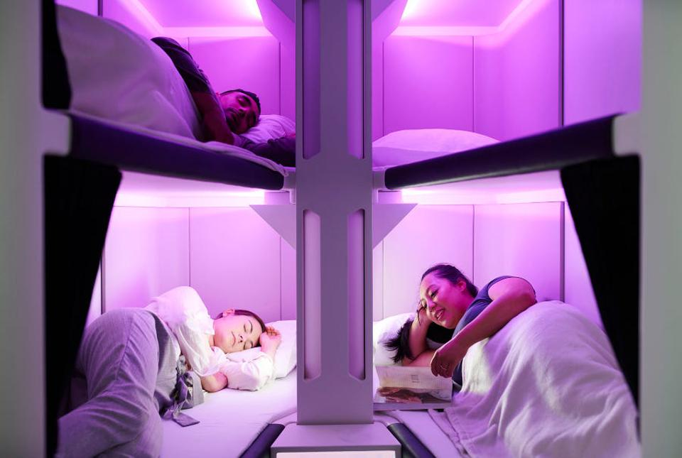 Air New Zealand Unveils Innovative Lie-Flat Economy Skynest Seats In Coach