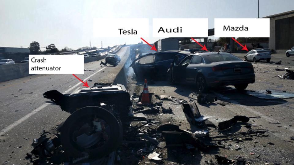 Tesla Autopilot crash NTSB