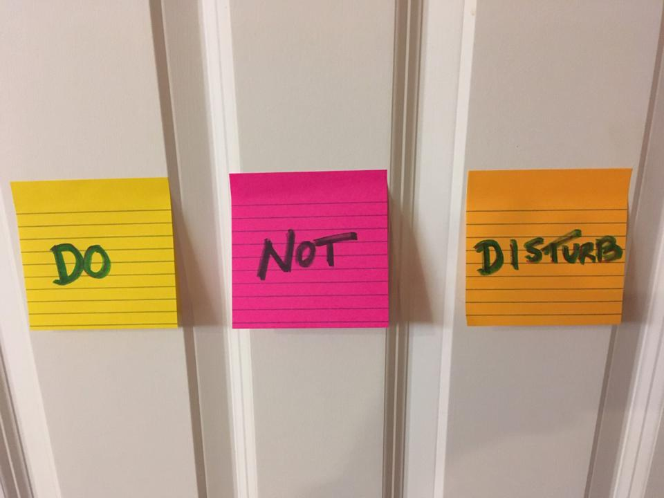Does The Do Not Disturb Sign Ever Work?