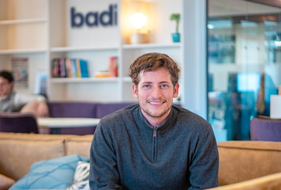 Barcelona-based Badi founder and CEO Carlos Pierre