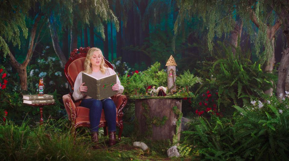 Actress Amy Poehler stars in a new campaign for Pure Leaf.