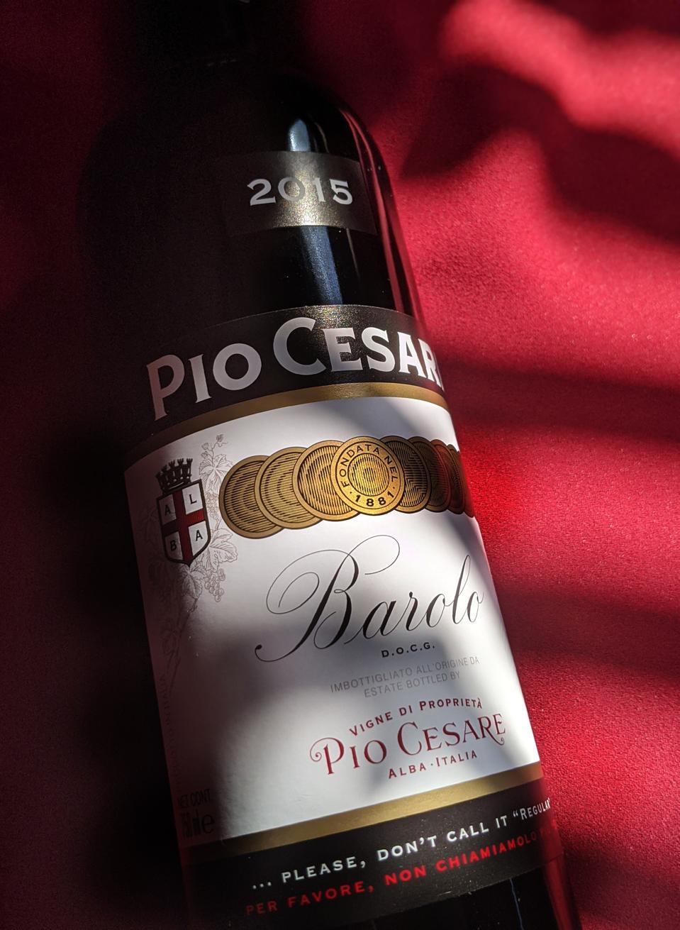 2015 Pio Cesare Barolo