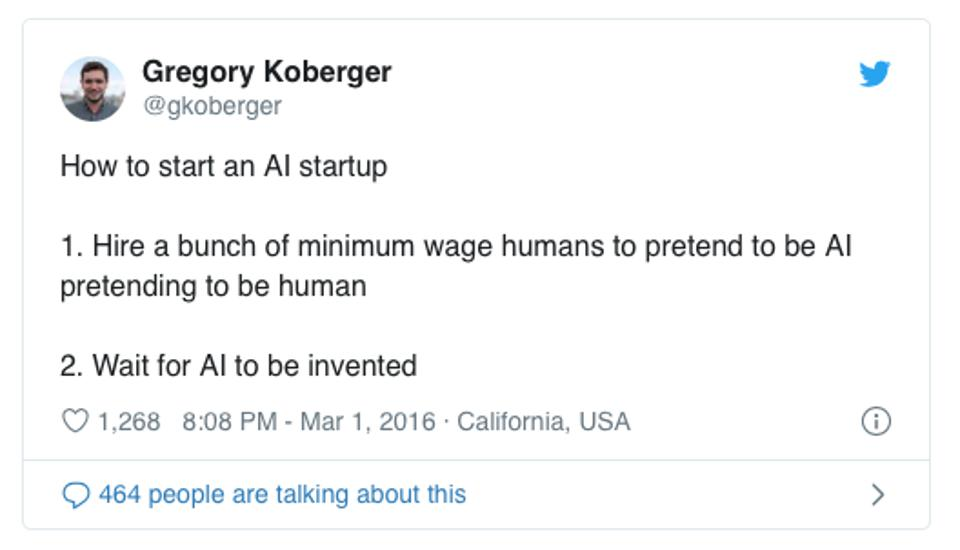Beware of Fake AI Companies. They will cost you valuable time and money.