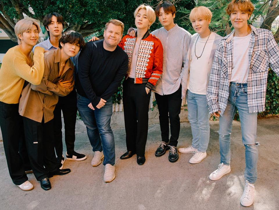 5 Hilarious Highlights From Bts On James Corden S Carpool Karaoke