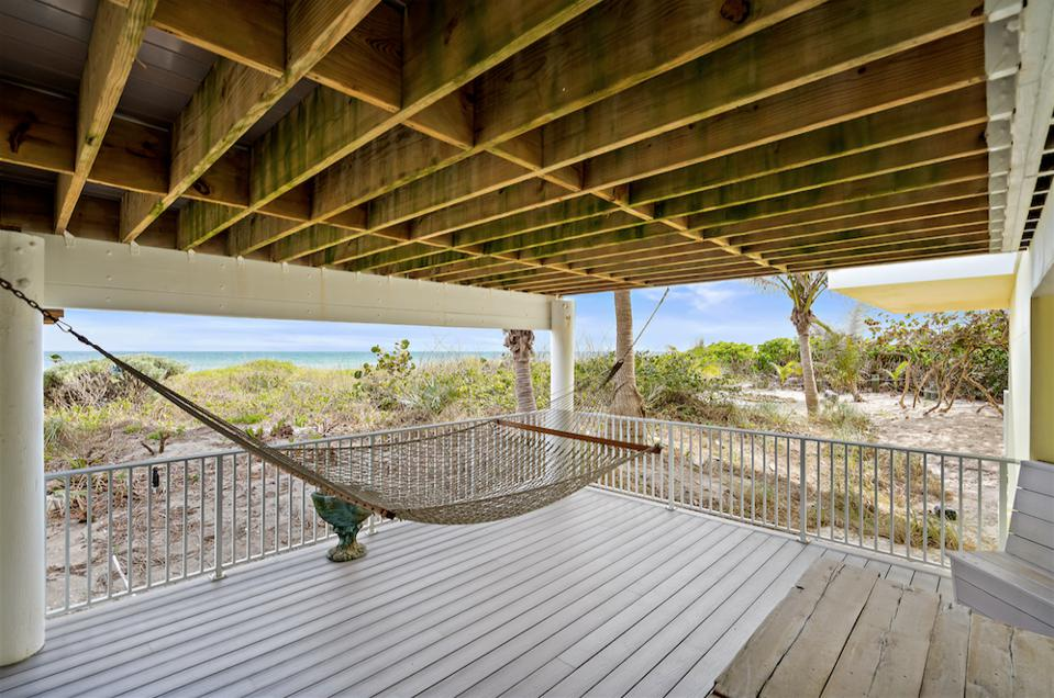 cabana bar, pool, hot spa and this relaxing hammock