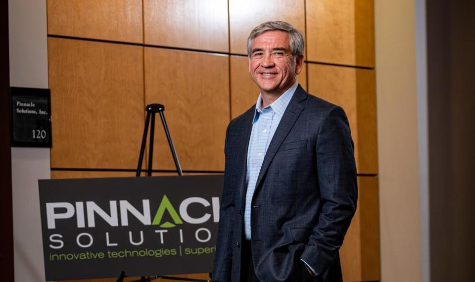 Mike Durant, founder of Pinnacle Solutions.