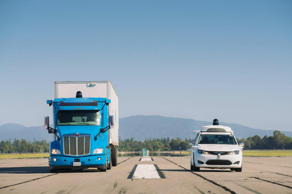Waymo intends to operate a robotic trucking business as well as a robotaxi service.