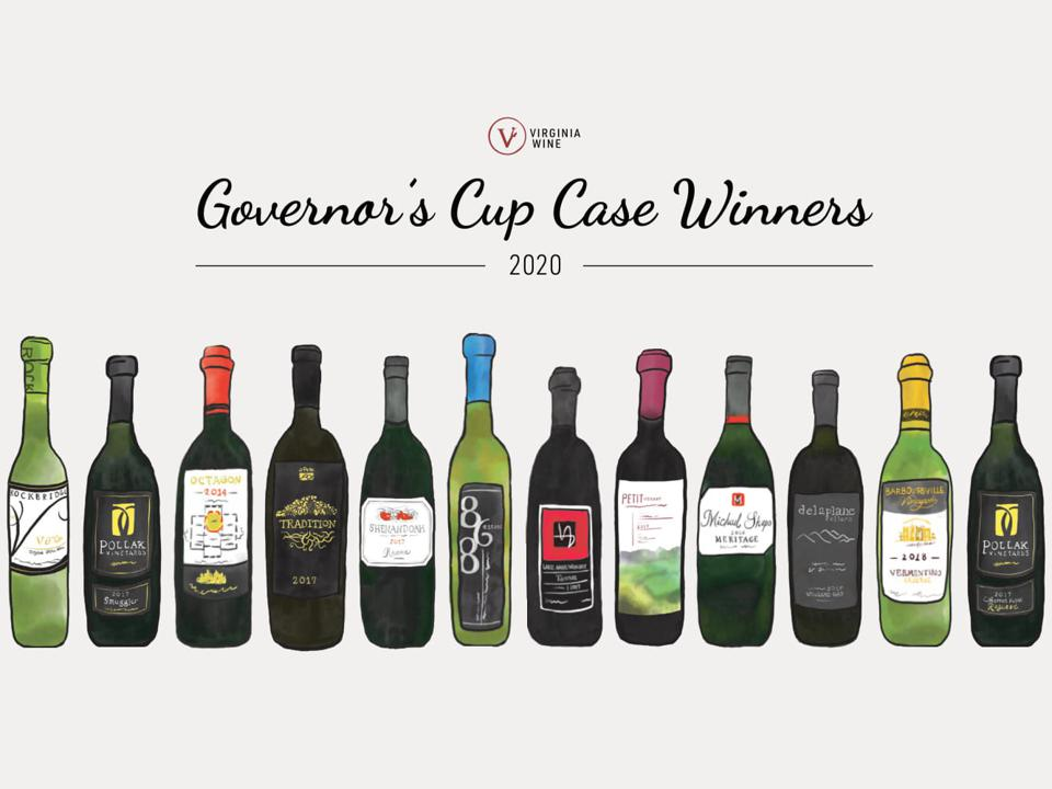 Wine News: Winner Of Virginia Governor's Cup 2020 Announced