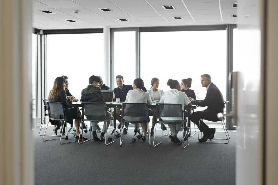 In the boardroom