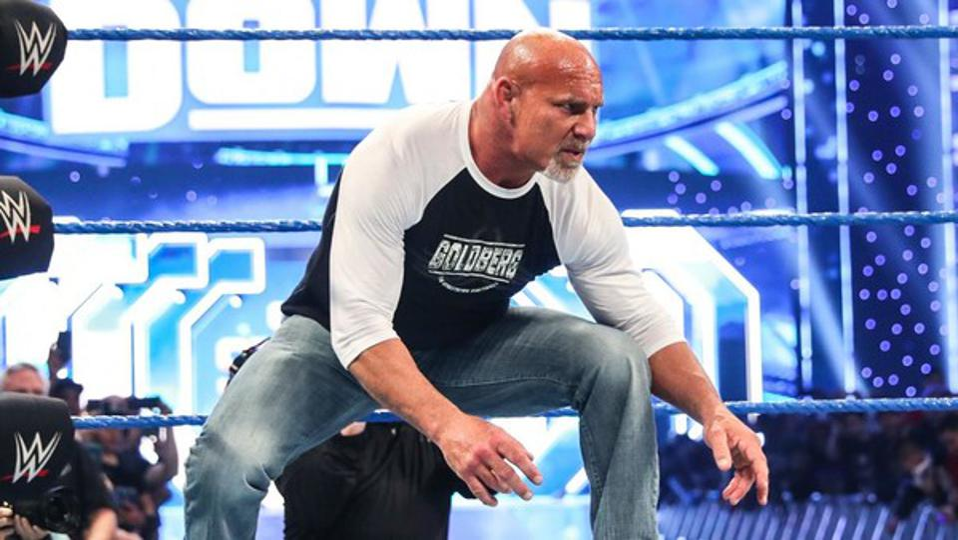 Goldberg The Fiend Universal Champion WWE Super ShowDown