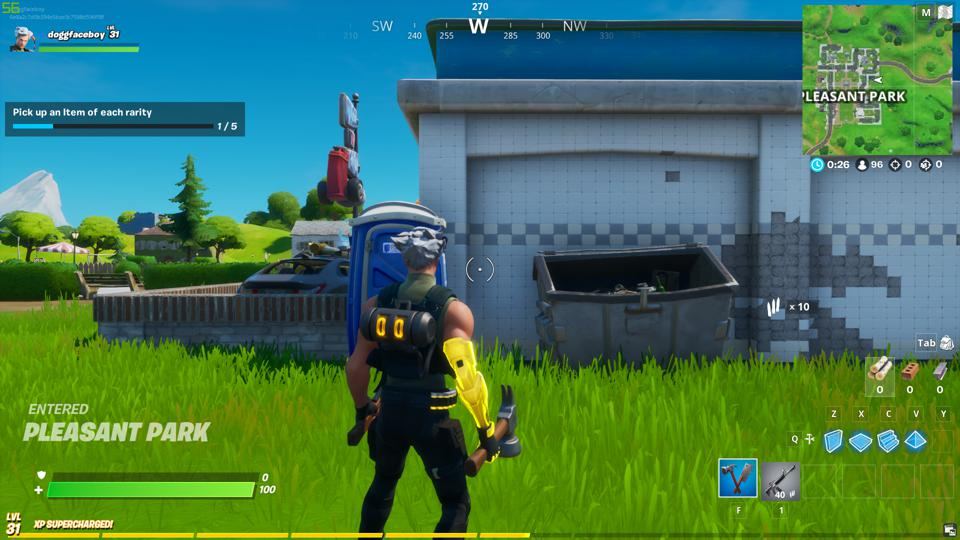 Fortnite Shadow Safe House Locations Challenge