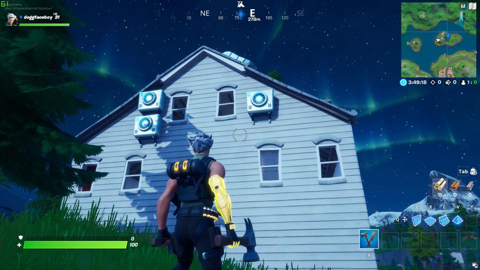 Shadow Safe House Locations Fortnite