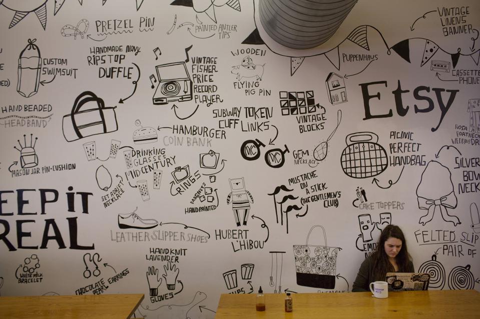 Inside Etsy Inc.'s DUMBO Headquarters Following Company's IPO
