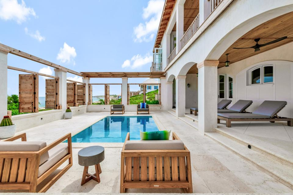There are only 20 three and four-bedroom villas along the shore of this three-mile long private island. Each Ambergris Cay's villas features ocean view or ocean front vistas, butler service, daily housekeeping.