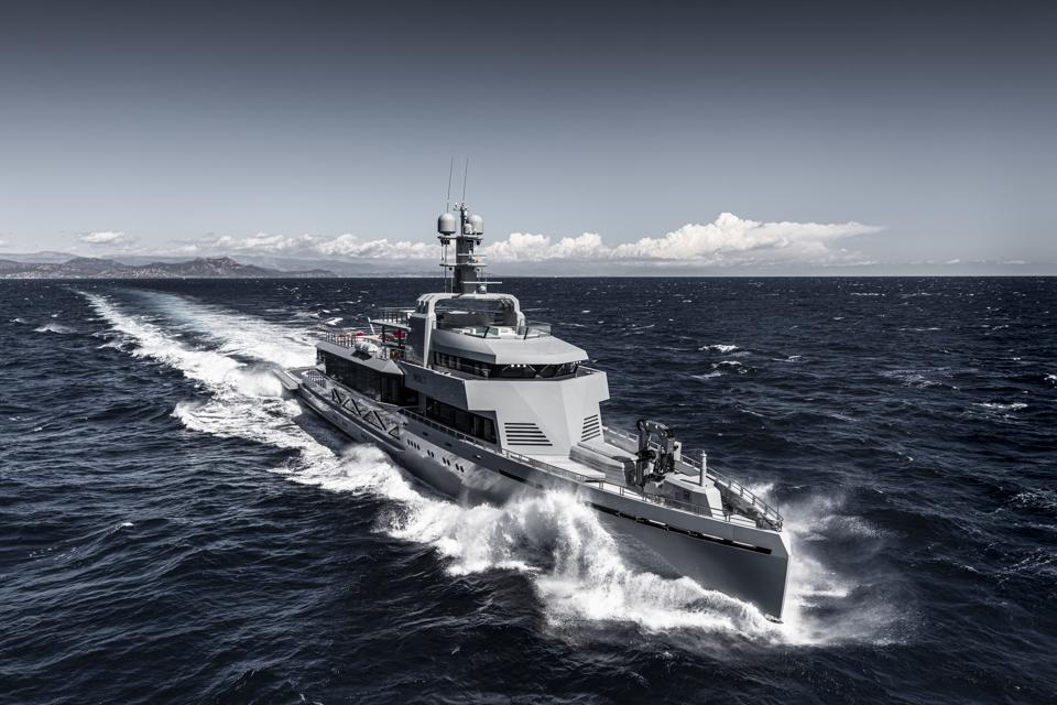 BOLD is military-grade superyacht.