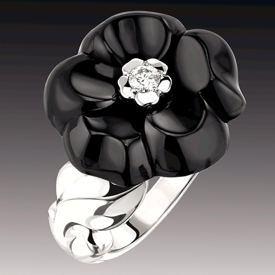 Chanel Celebrates The Beauty Of Black And White With New Jewelry And A Two-Tone J12