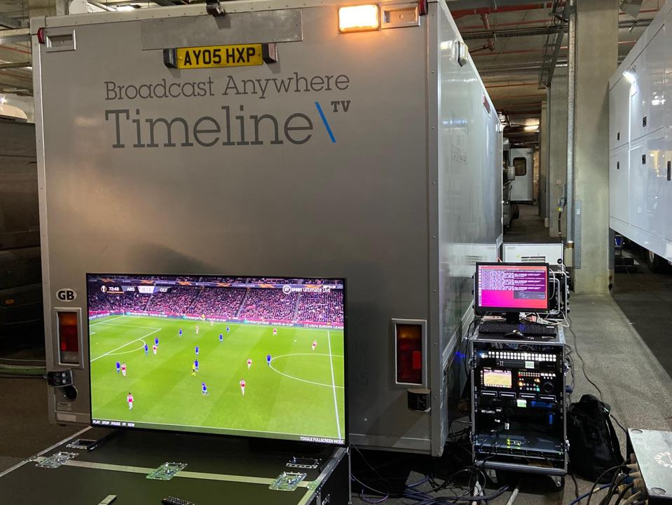 8K live feed from BT to a Samsung TV.