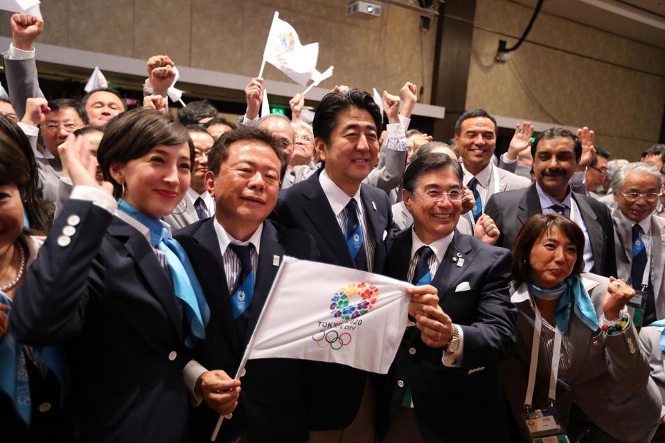 Tokyo is awarded the 2020 Summer Olympic Games.