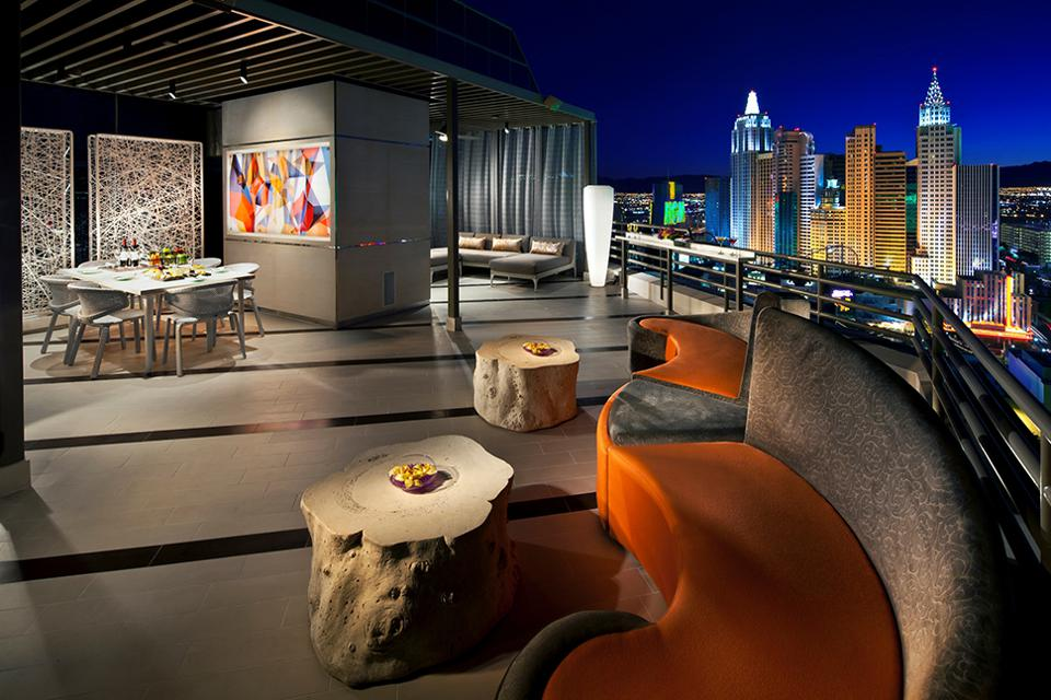 MGM Grand's Skyline Terrace Suite Balcony