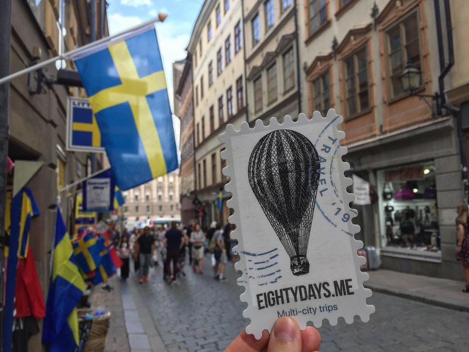 Eightydays.me travel website Stockholm Sweden Euro trip
