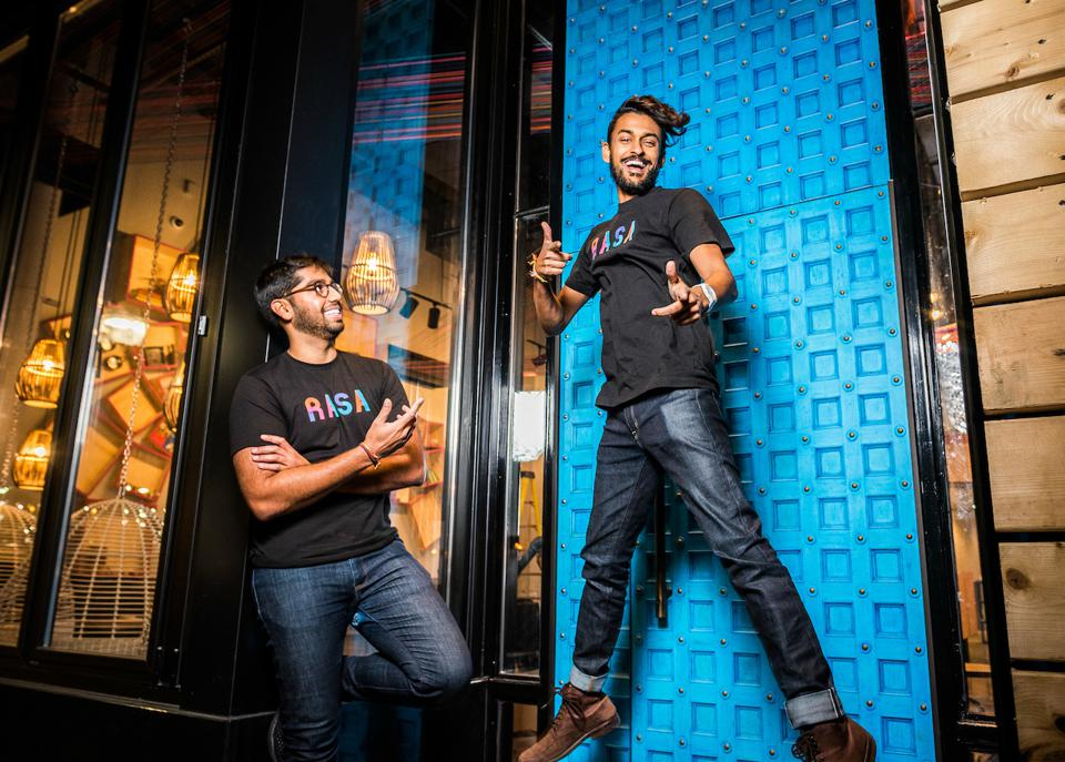 Rahul and Sahil Co Founders RASA Washington DC Navy Yard fast casual Indian restaurant