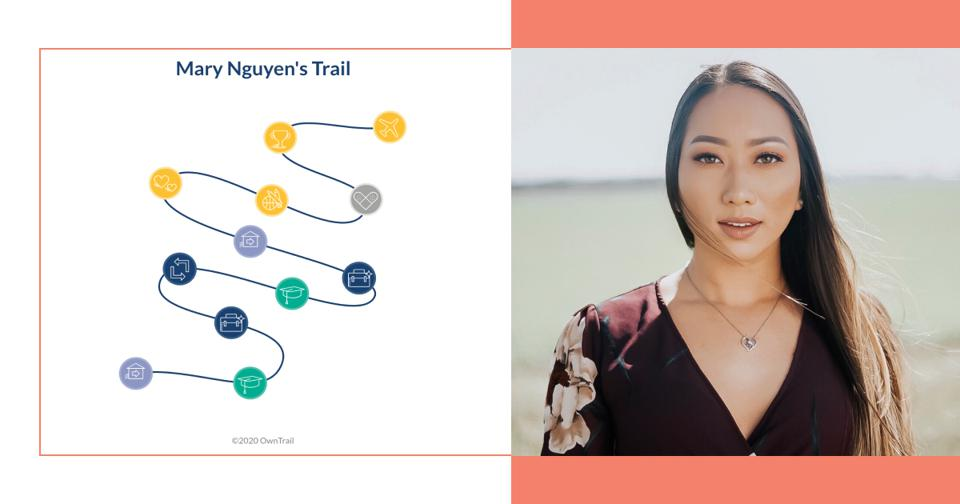 Mary Nguyen's trail and photo