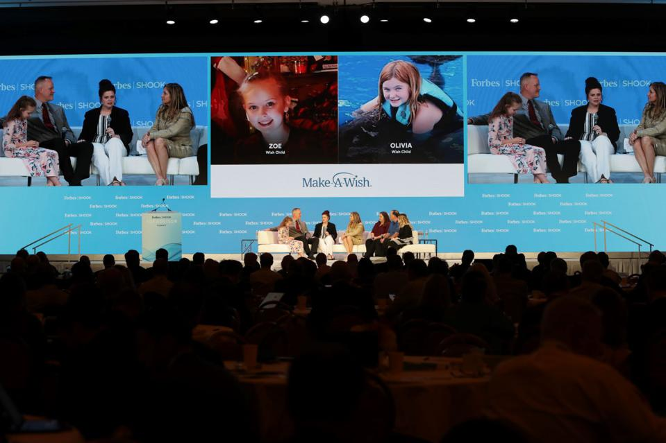 Two families involved with the Make-A-Wish organization discuss its incredible impact at the Forbes/SHOOK Top Advisor Summit 2020.