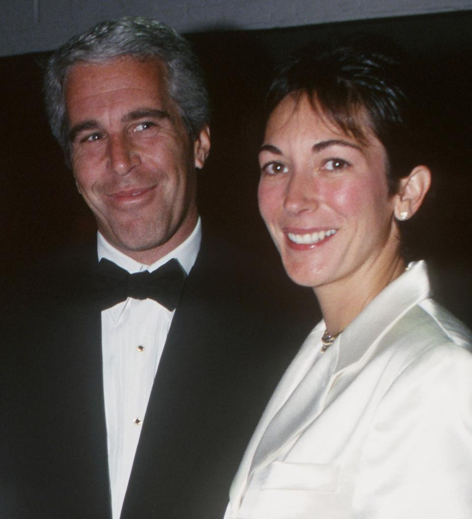 Jeffrey Epstein and Ghislaine Maxwell attend Henry Street Settlement Event on May 16, 1995 in New York City.