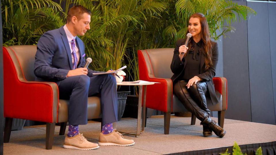 Stephanie McMahon Tampa Bay Times Coronavirus outbreak WWE WrestleMania 36