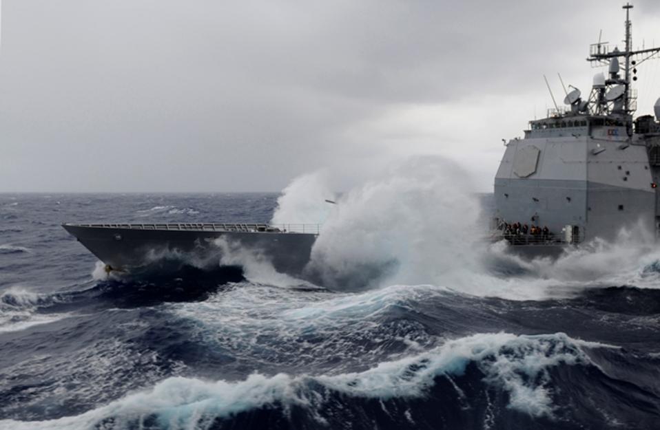 The U.S. Navy's Future Fleet May Run Aground In Heavy Weather