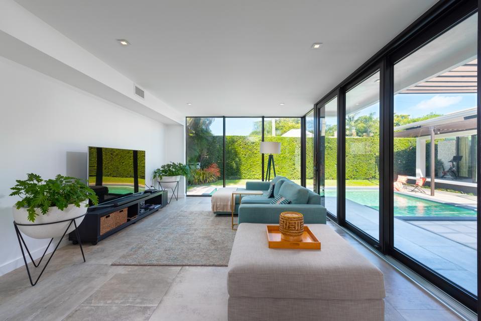 Full-height impact windows