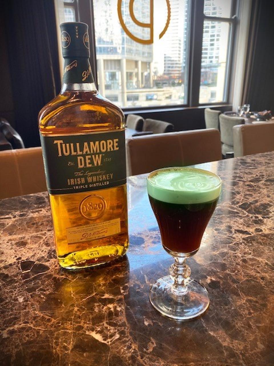 Irish Coffee at Ocean Prime Chicago.