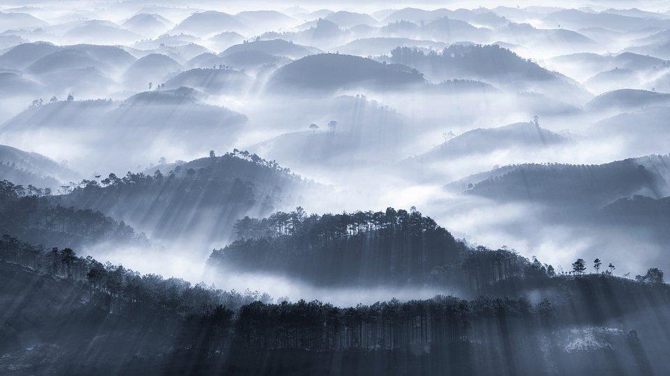 Eery Vietnam fog