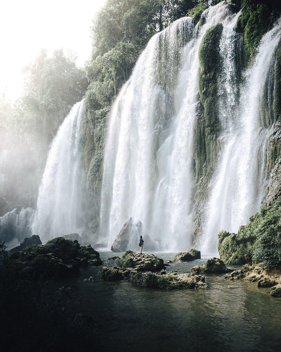 waterfall paradise in Vietnam