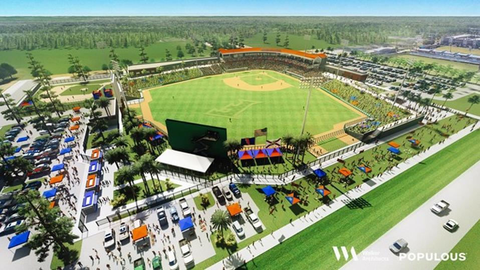 University of Florida new baseball stadium