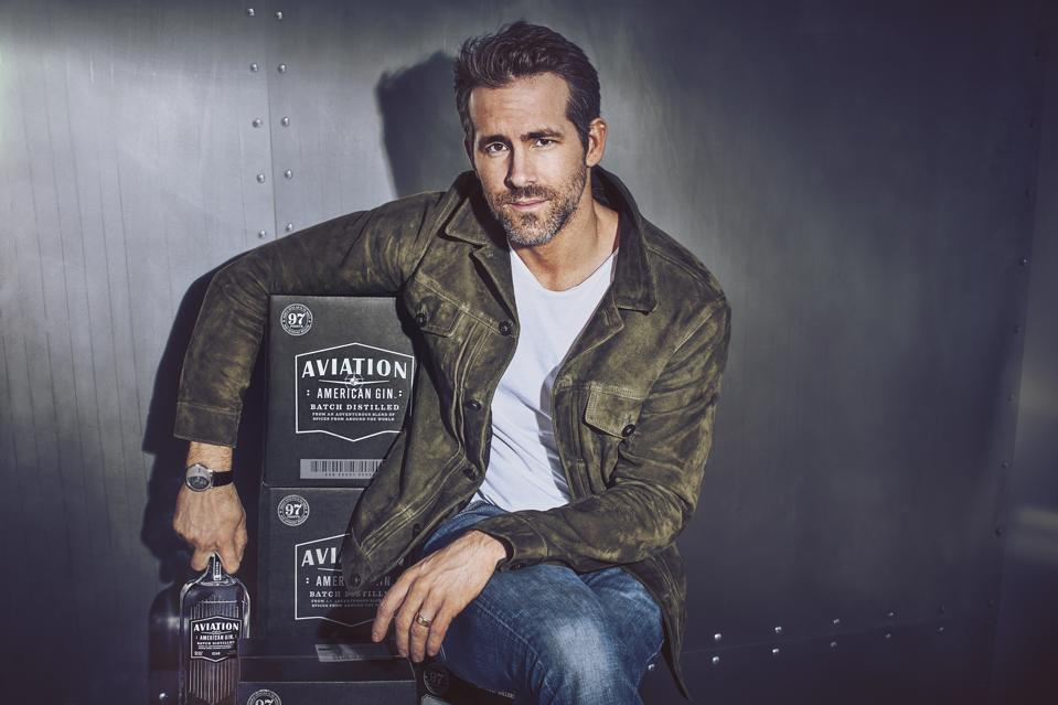 Aviation Gin is owned by Ryan Reynolds.