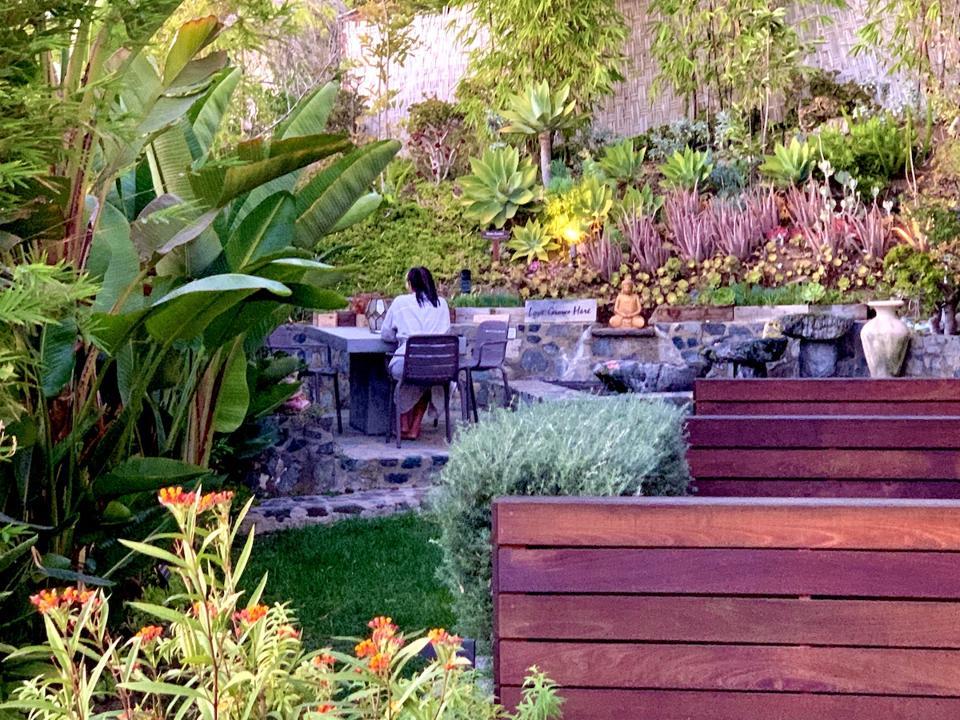 The Water Garden at the Inn at Moonlight Beach