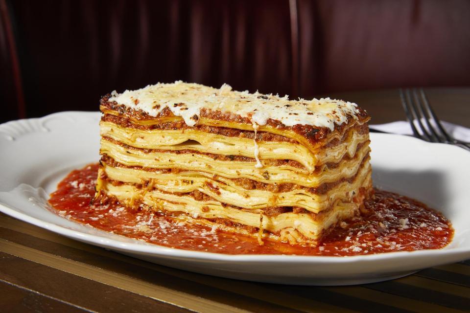 Borgata Angeline by Michael Symon lasagna