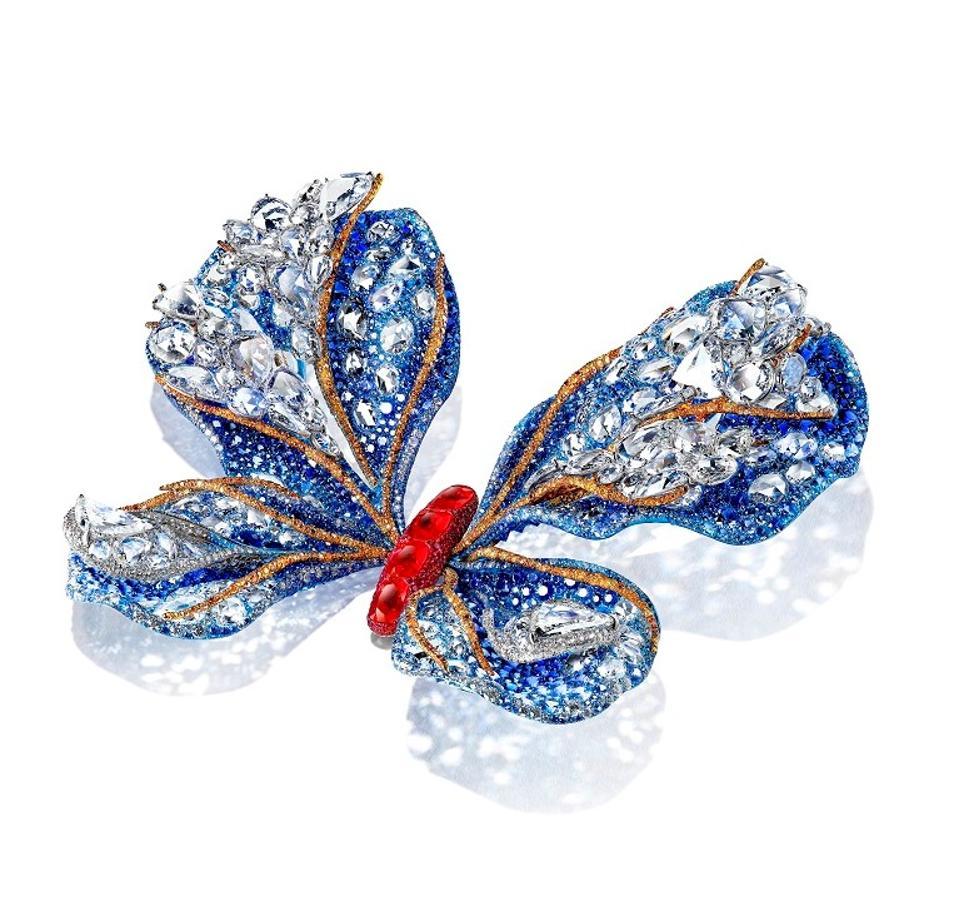 2019 Aurora Butterfly brooch