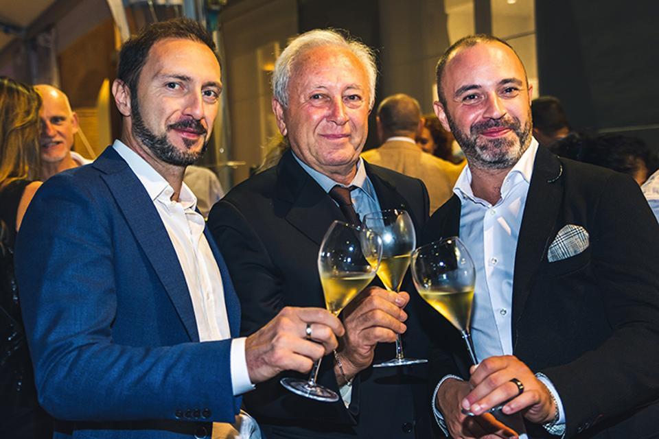 Alessandro, Teresio and Alberto Schiavi