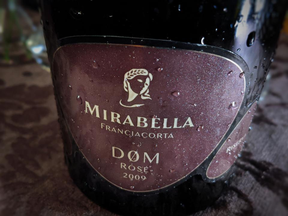 Mirabella DØM Rosé Franciacorta Dosaggio Zero Riserva