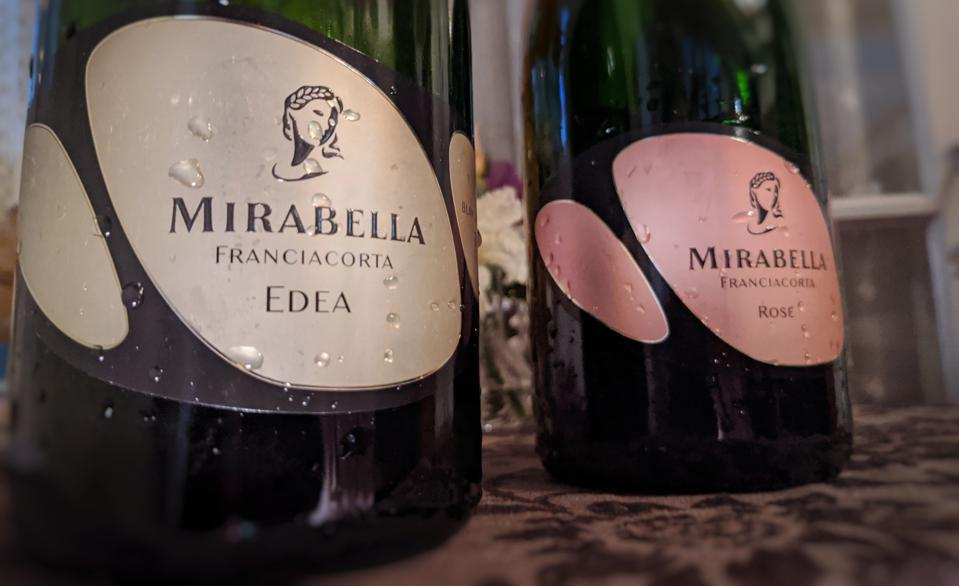Mirabella Edea and Rosé Franciacorta Wines