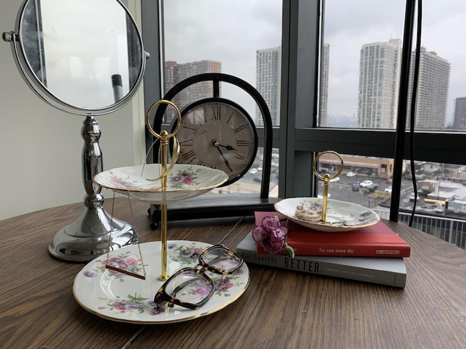 The Brooklyn Tea Cup's upcycled china.