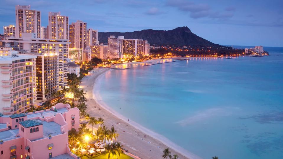 Waikiki night shot