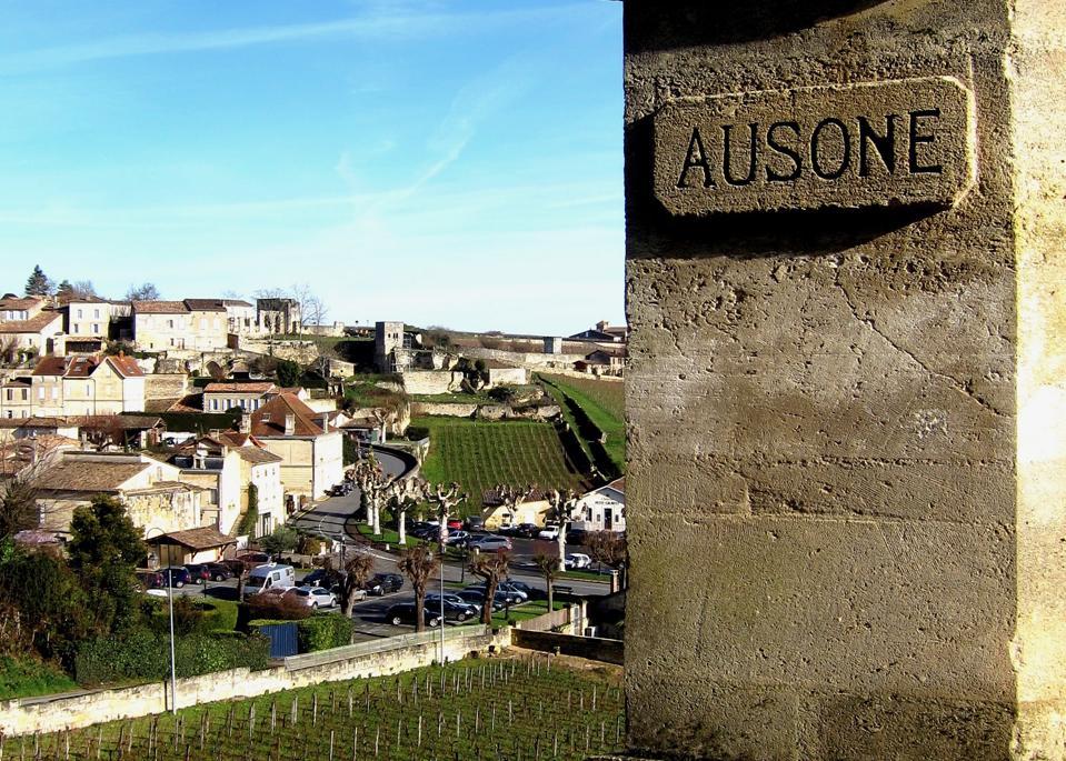 Château Ausone vines, Saint-Émilion, Bordeaux, France