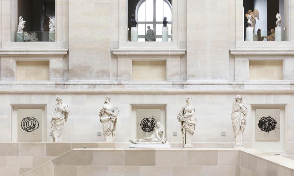 La Rose du Louvre by Jean Michel Othoniel