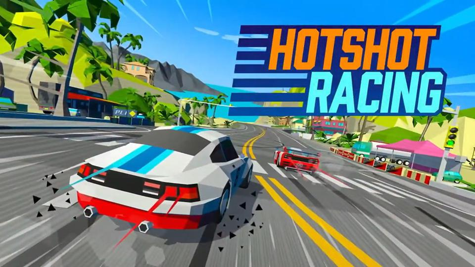 The logo for Hotshot Racing